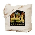 Baroque Harpsichord Tote Bag