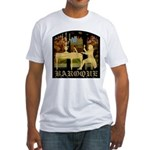 Baroque Harpsichord Fitted T-Shirt