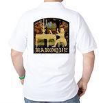 Baroque Harpsichord Golf Shirt
