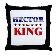 HECTOR for king Throw Pillow
