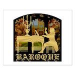 Baroque Harpsichord Small Poster