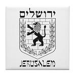 Jerusalem Emblem Tile Coaster