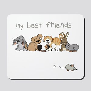 My best friends Mousepad
