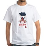 Devil Music Is Number One White T-Shirt