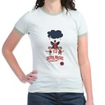 Devil Music Is Number One Jr. Ringer T-Shirt