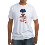 Devil Music Is Number One Fitted T-Shirt