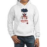Devil Music Is Number One Hooded Sweatshirt