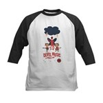 Devil Music Is Number One Kids Baseball Jersey