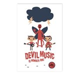 Devil Music Is Number One Postcards (Package of 8)