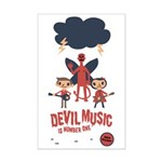 Devil Music Is Number One Mini Poster Print