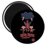 Devil Music Is Number One Magnet