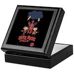 Devil Music Is Number One Keepsake Box