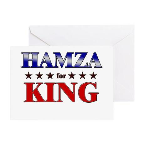 HAMZA for king Greeting Card