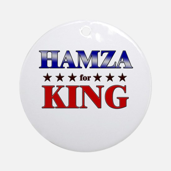 HAMZA for king Ornament (Round)