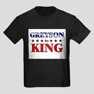 GREYSON for king Kids Dark T-Shirt