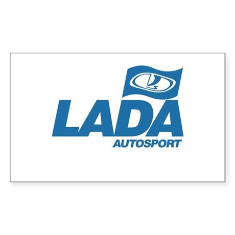 LADA Autosport Rectangle Sticker
