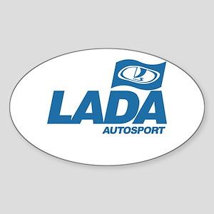 LADA Autosport Oval Sticker