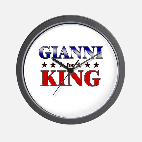 GIANNI for king Wall Clock