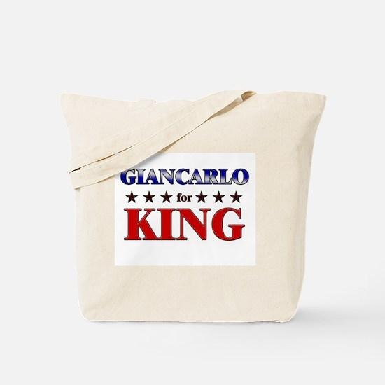 GIANCARLO for king Tote Bag