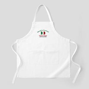 Coolest Italian Papa BBQ Apron
