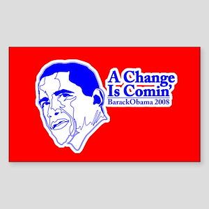 a Change is Comin' Sticker