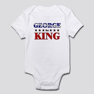GEORGE for king Infant Bodysuit