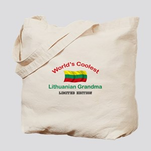 Coolest Lithuanian Grandma Tote Bag