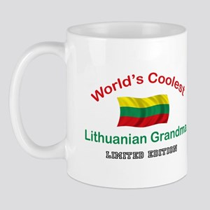 Coolest Lithuanian Grandma Mug