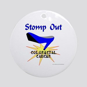 COLORECTAL CANCER Ornament (Round)