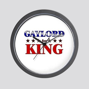 GAYLORD for king Wall Clock