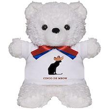 Cinco de Meow Teddy Bear