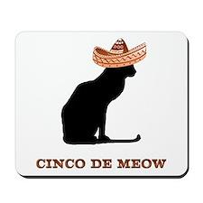 Cinco de Meow Mousepad