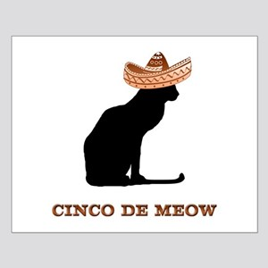 Cinco de Meow Small Poster