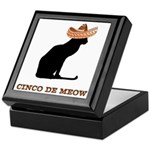 Cinco de Meow Keepsake Box