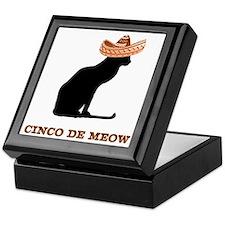 Cinco de Meow Keepsake Box