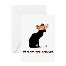 Cinco de Meow Greeting Card