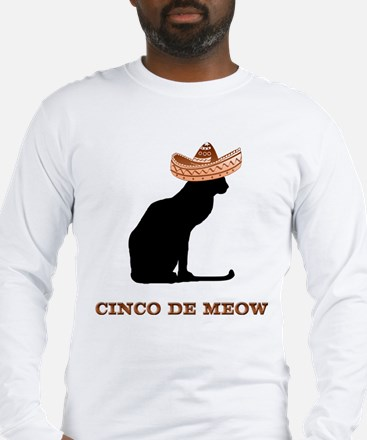 Cinco de Meow Long Sleeve T-Shirt