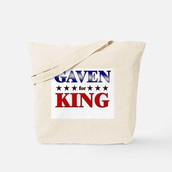 GAVEN for king Tote Bag