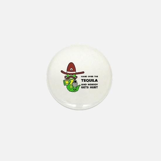 Funny Tequila Mini Button