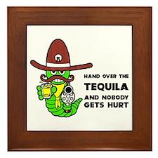 Funny Tequila Framed Tile