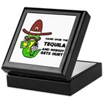 Funny Tequila Keepsake Box