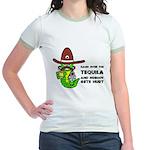 Funny Tequila Jr. Ringer T-Shirt