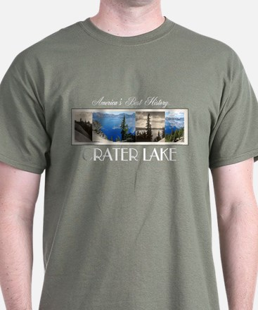 Crater Lake Americasbesthistory.com T-Shirt