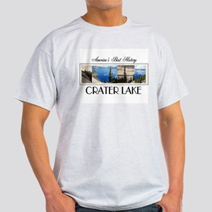 Crater Lake Americasbesthistory.com Light T-Shirt