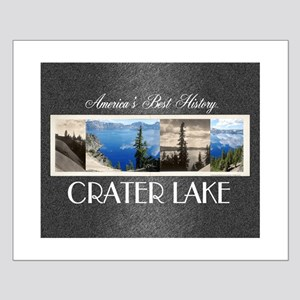 Crater Lake Americasbesthistory.com Small Poster