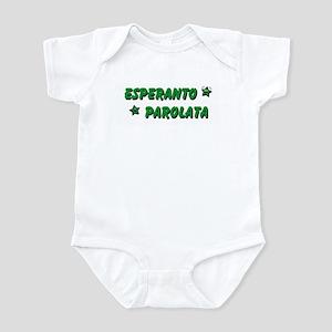 Esperanto Spoken Infant Bodysuit