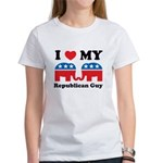 I Heart My Republican Guy Women's T-Shirt
