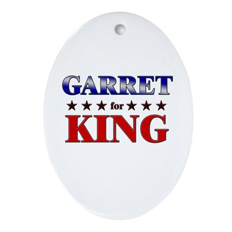 GARRET for king Oval Ornament