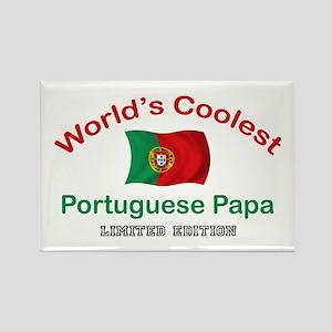 Coolest Portuguese Papa Rectangle Magnet