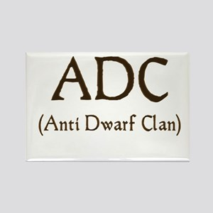 ADC (anti dawrf clan) Rectangle Magnet